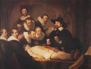 Rembrant's The Anatomy Lesson of Dr Nicolaes Tulp